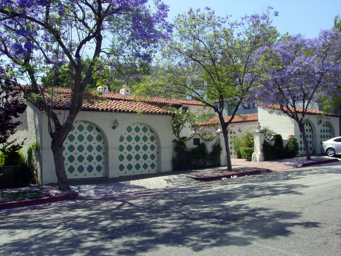 Spanish-style home