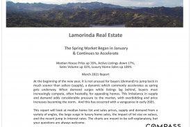 Lamorinda Real Estate March 2021 Market Report