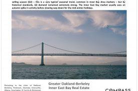 Oakland Berkeley Inner East Bay Home Prices Market Trends October 2021