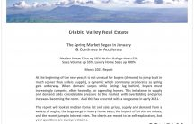 Diablo Valley Real Estate March 2021 Market Report