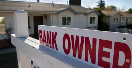 U S Foreclosure Rate Falls To 10 Year Low